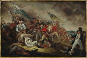 The Death of General Warren at the Battle of Bunker Hill