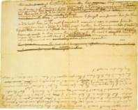 Thomas Jefferson Declaration of Independence fragment