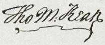 Thomas McKean Signature