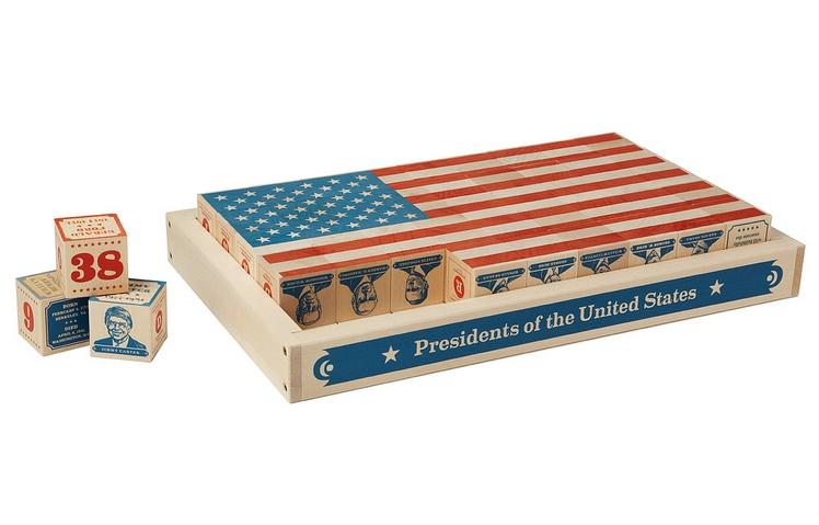 US Presidents Building Blocks Set