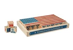 US Presidential Building Blocks Set