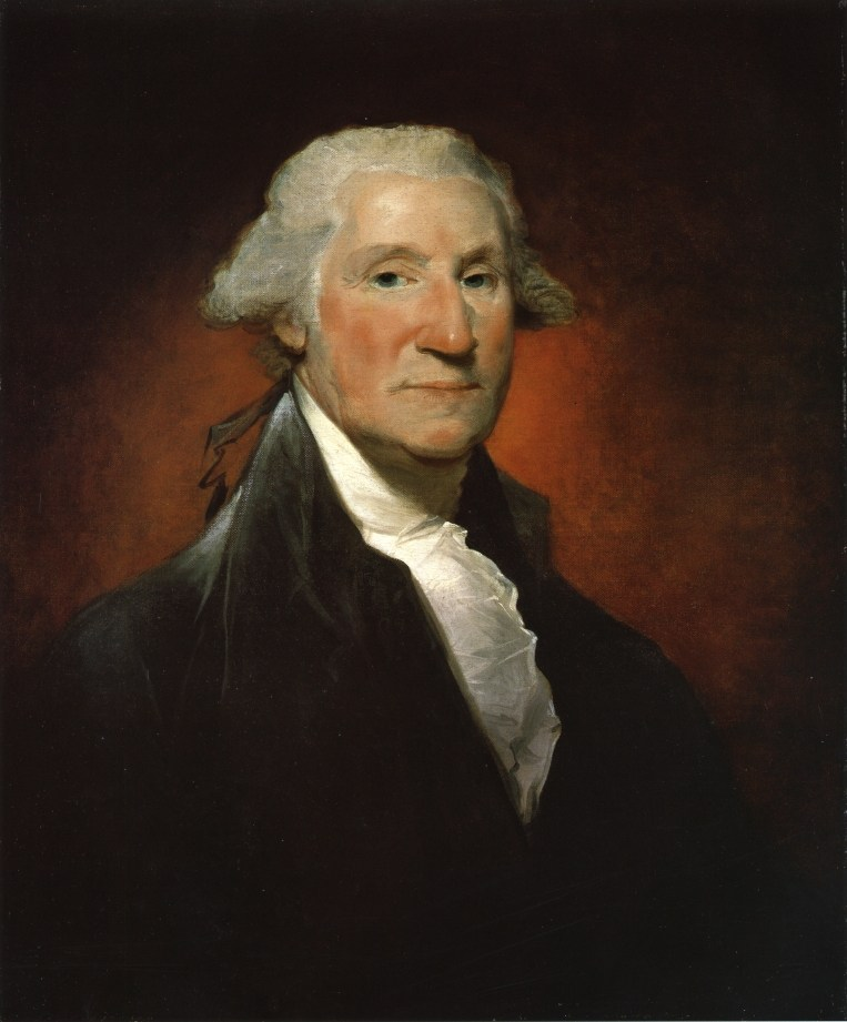 Vaughan Portrait by Gilbert Stuart