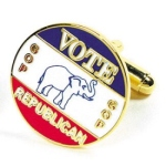 Vote Republican Cufflinks