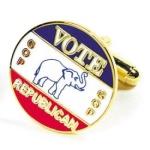 Vote Republican Cufflinks