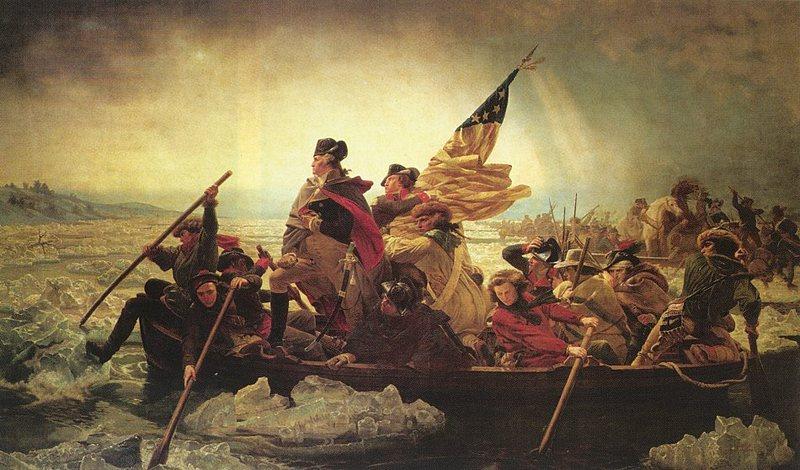 Washington Crossing the Delaware by Emanuel Gottlieb Leutze