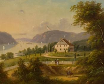 Washington's Headequarters at Newburgh, New York by George Gunther Hartwick