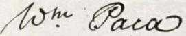 William Paca Signature