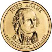 John Adams Presidential Coin