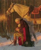 Buy The Prayer at Valley Forge by Arnold Friberg