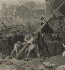 Raising the Liberty Pole by John McRae