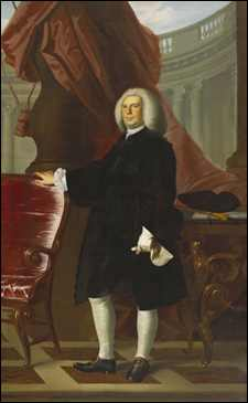 Thomas Hancock by John Singleton Copley