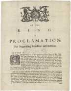 King George III's Rebellion Proclamation