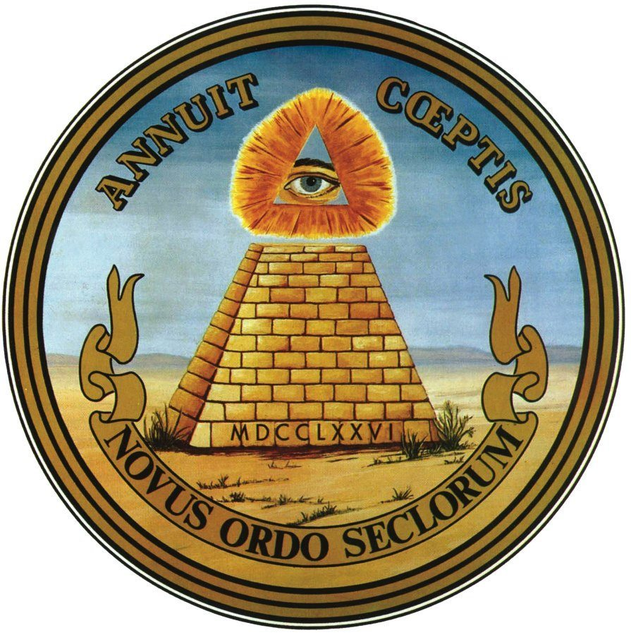 Great Seal of the United States reverse side