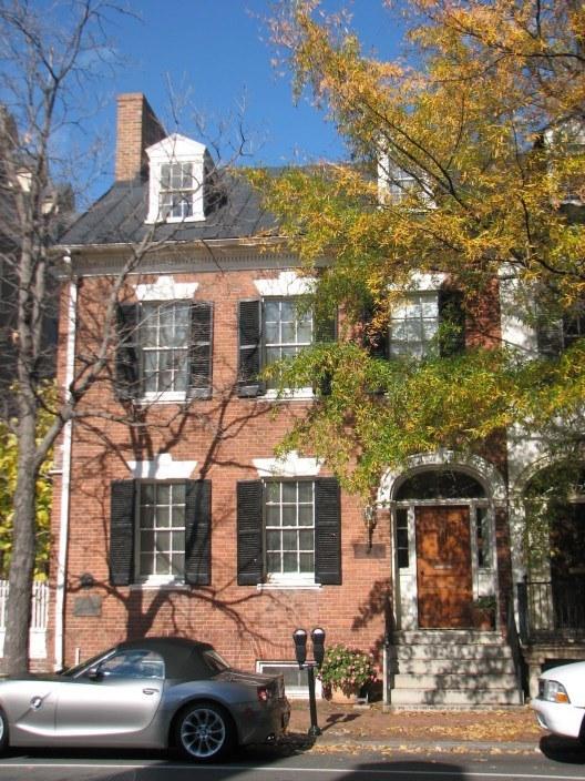 Henry Lee's house in Alexandria, Virginia