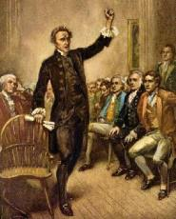 Patrick Henry Speech to the Virginia House of Burgesses