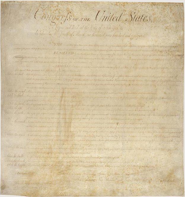 Original Bill of Rights