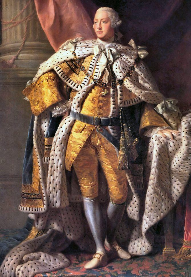 KIng George III  by Allan Ramsay