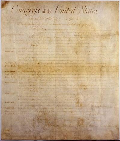 North Carolina's Original Bill of Rights