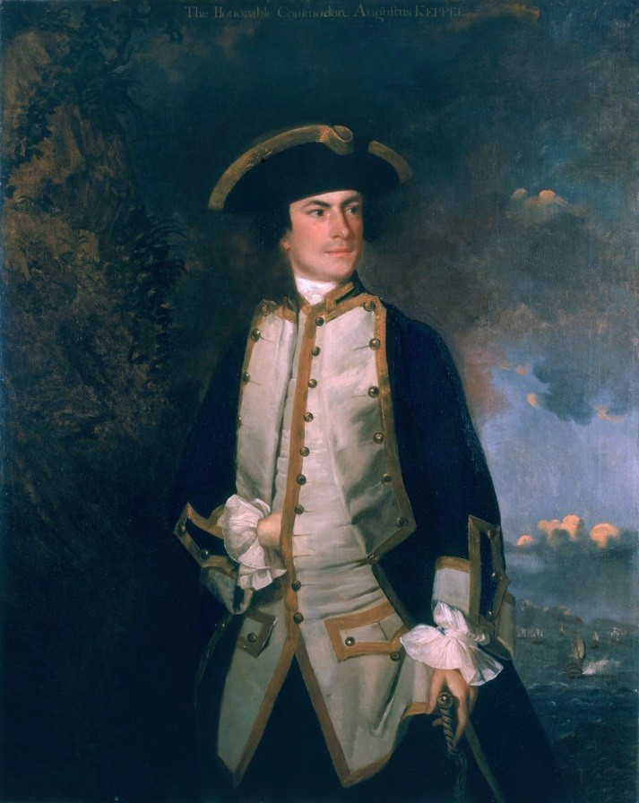 Augustus Keppel by Joshua Reynolds