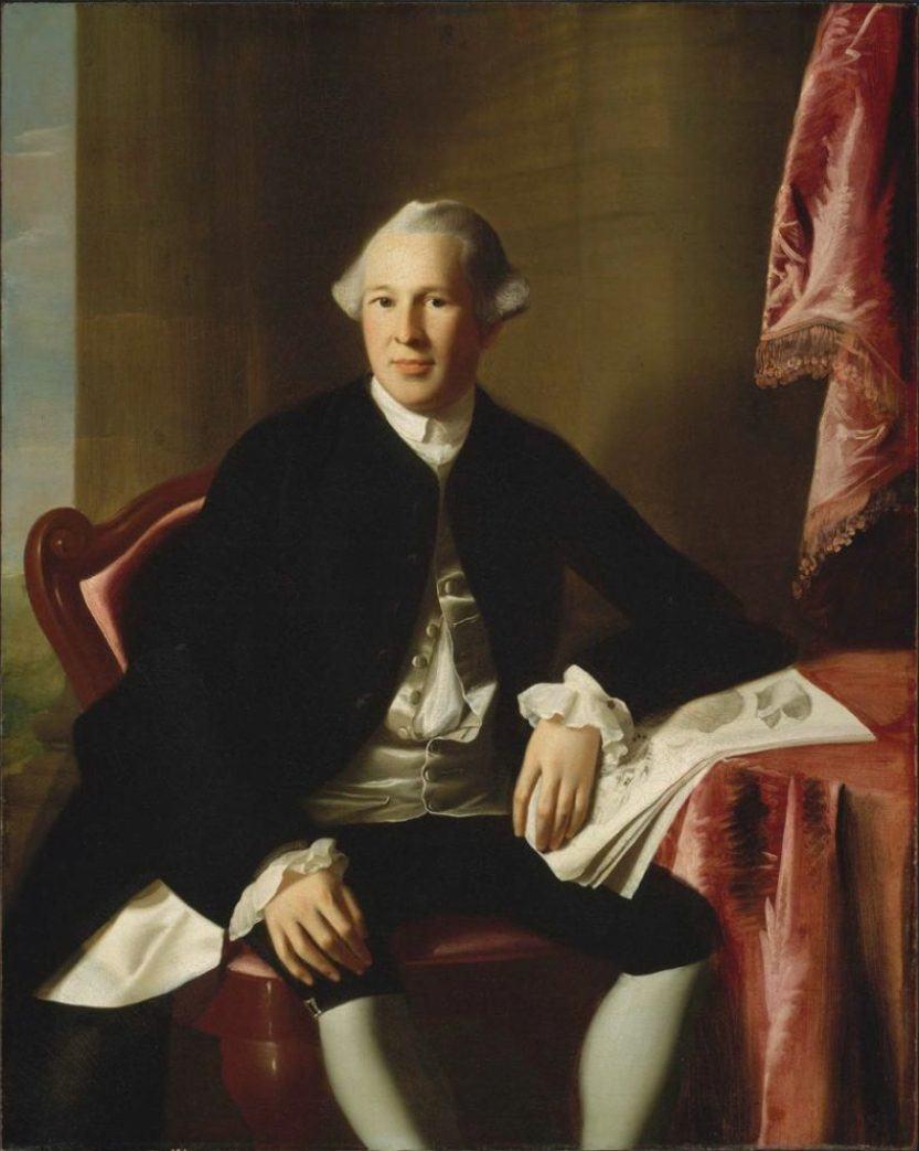 Dr. Joseph Warren by John Singleton Copley