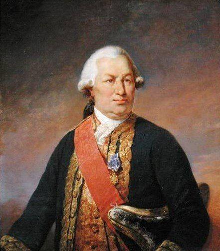Admiral Francois-Joseph Paul, the Comte de Grasse