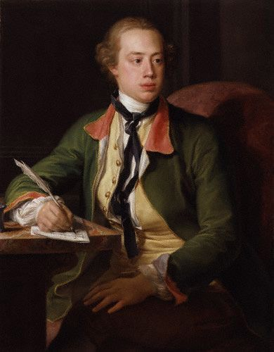 Frederick North by Pompeo Batoni