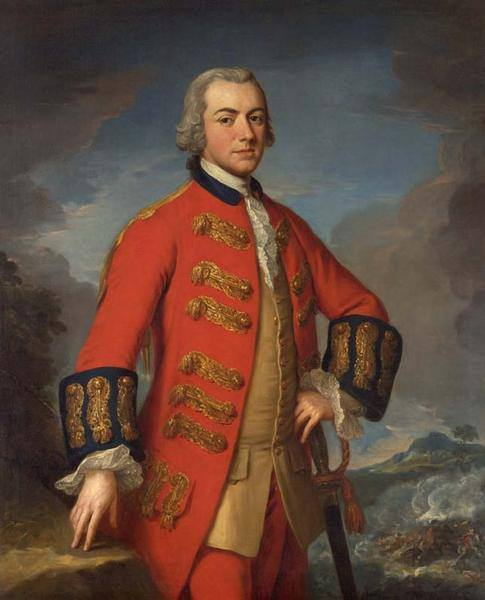 General, Sir Henry Clinton  by Andrea Soldi