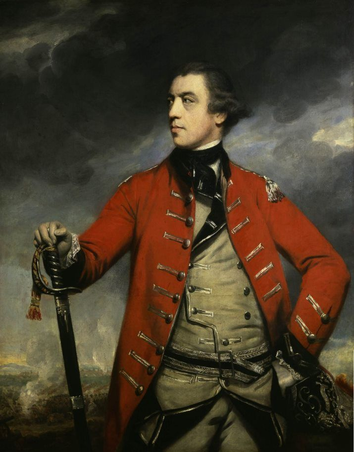 General John Burgoyne by Joshua Reynolds