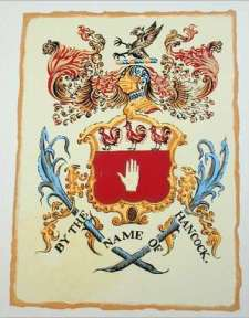 Hancock Family Coat of Arms