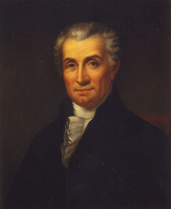James Monroe by Rembrandt Peale