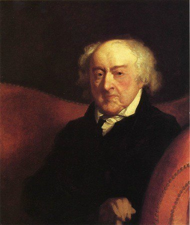 John Adams Portrait by Gilbert Stuart