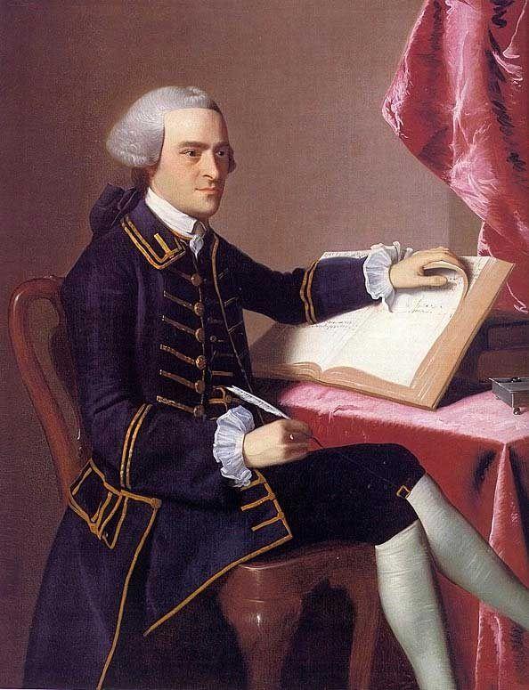 John Hancock by John Singleton Copley