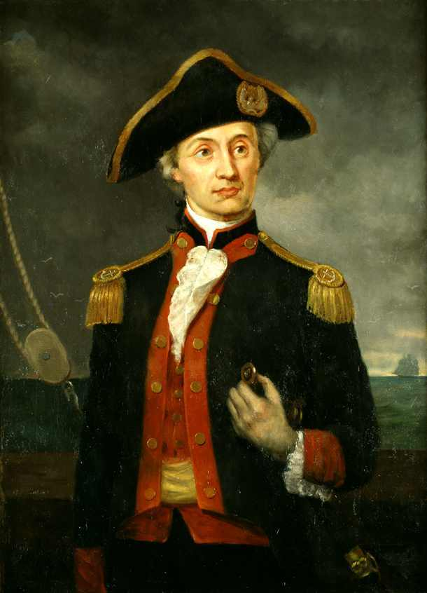Captain John Paul Jones by George Bagby Matthews