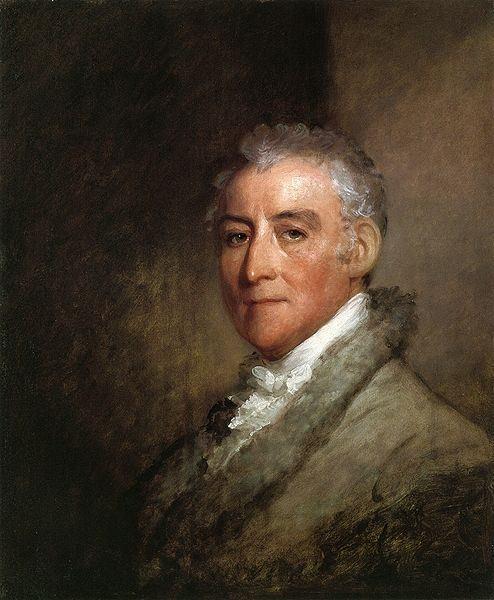 John Trumbull by Gilbert Stuart