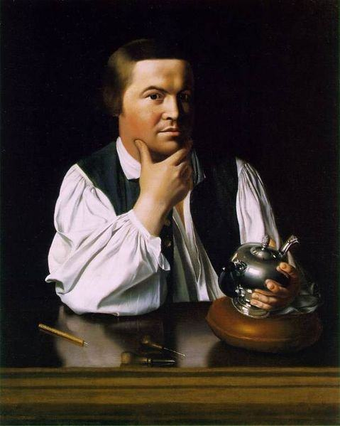 Paul Revere Portrait by John Singleton Copley