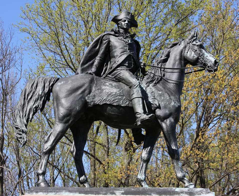 General Anthony Wayne statue, Valley Forge, Pennsylvania