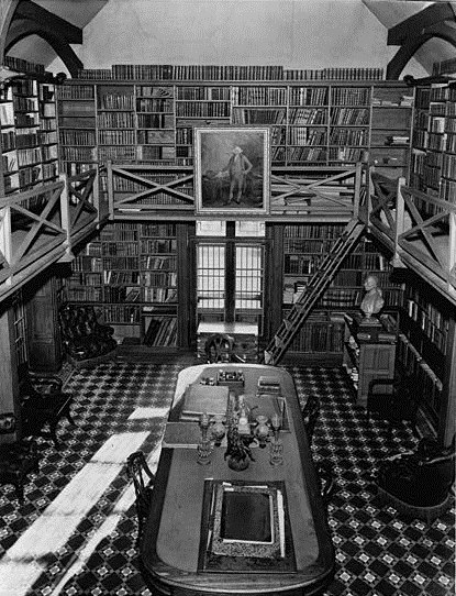 Stone Library, personal library of John Adams