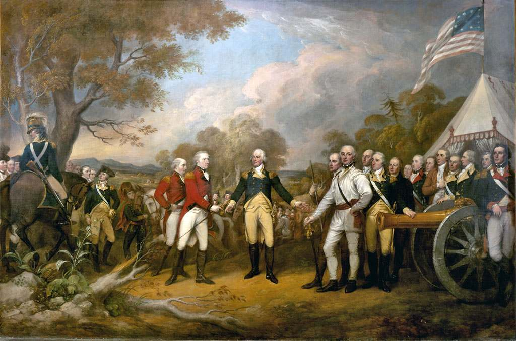 Surrender of General Burgoyne by Jonathan Trumbull