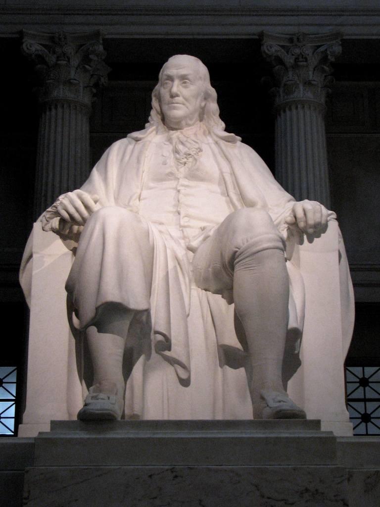 Benjamin Franklin National Memorial, Franklin Institute, Philadelphia, Pennsylvania