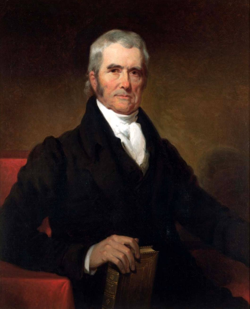 Chief Justice John Marshall by Henry Inman