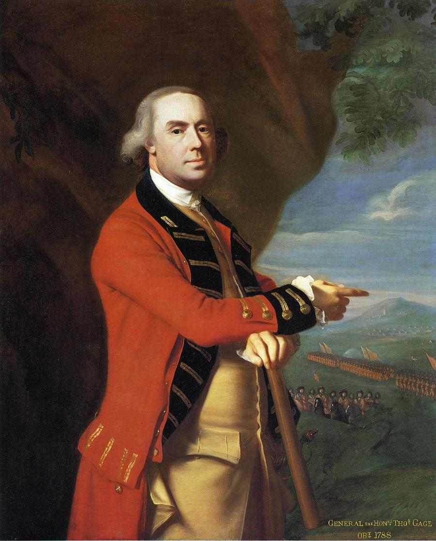 General Thomas Gage by John Singleton Copley