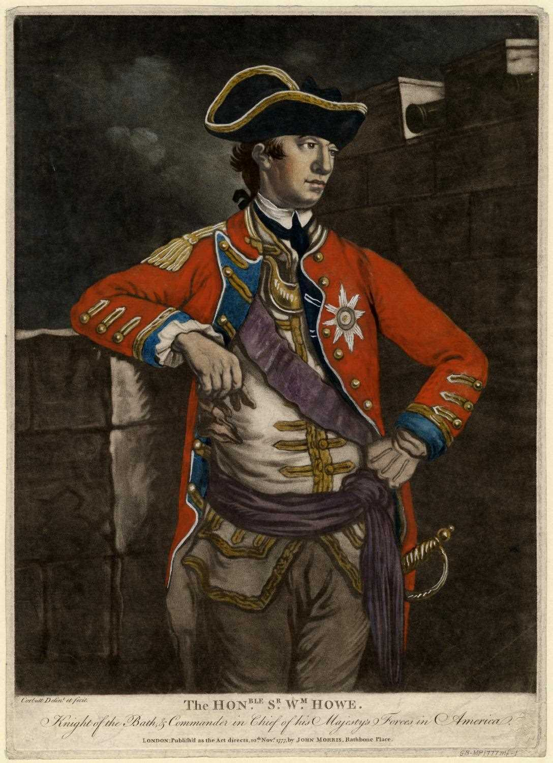 General William Howe, 1777