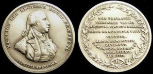 Medal awarded to Major Henry Lee by Congress for the victory at the Battle of Paulus Hook
