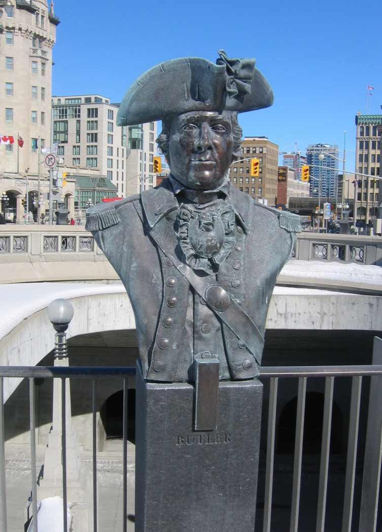 Major John Butler bust, Ottawa, Canada