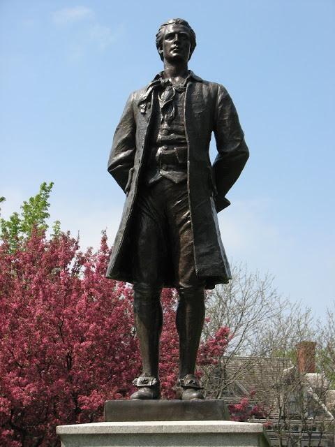 Nathan Hale statue, Saint Paul, Minnesota