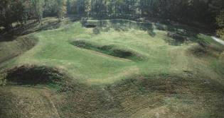 Remains of the Star Fort, Ninety-Six, South Carolina