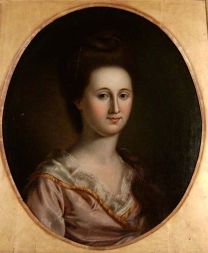 Esther de Berdt Reed by Charles Willson Peale