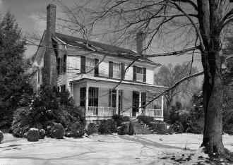 Still standing Francis Nash - William Hooper house Hillsborough, North Carolina
