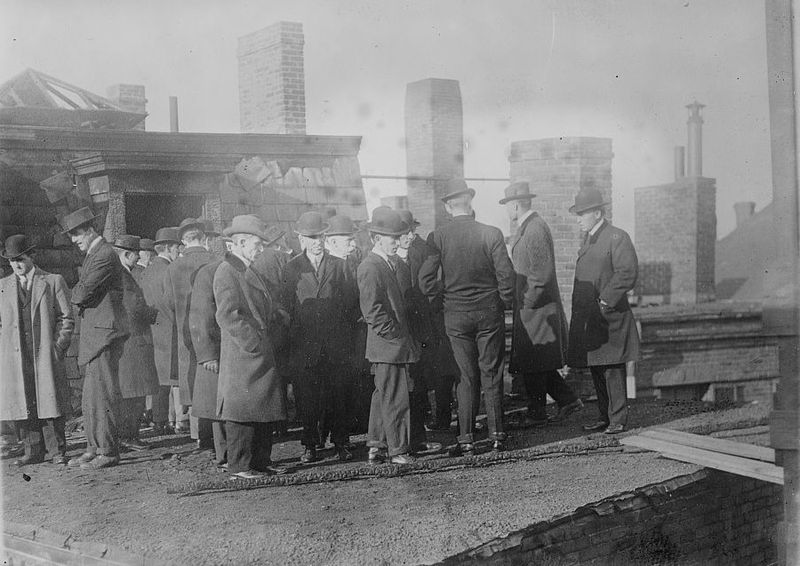 Grand Jury at the Arcadia Hotel fire in Boston, 1913