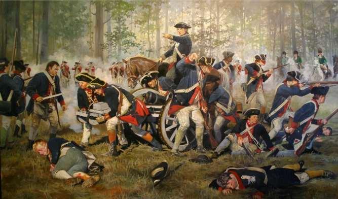 Battle of Hobkirk's Hill by Pamela Patrick White